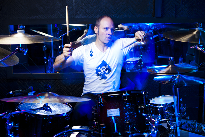 100611 A Hectic Month I Have Been Drumming For UK